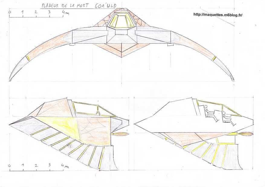 4 planeur de la mort goa 39 uld maquettes en papier paper models. Black Bedroom Furniture Sets. Home Design Ideas