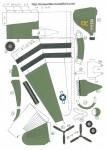 DC-3, C-47, papier , paper