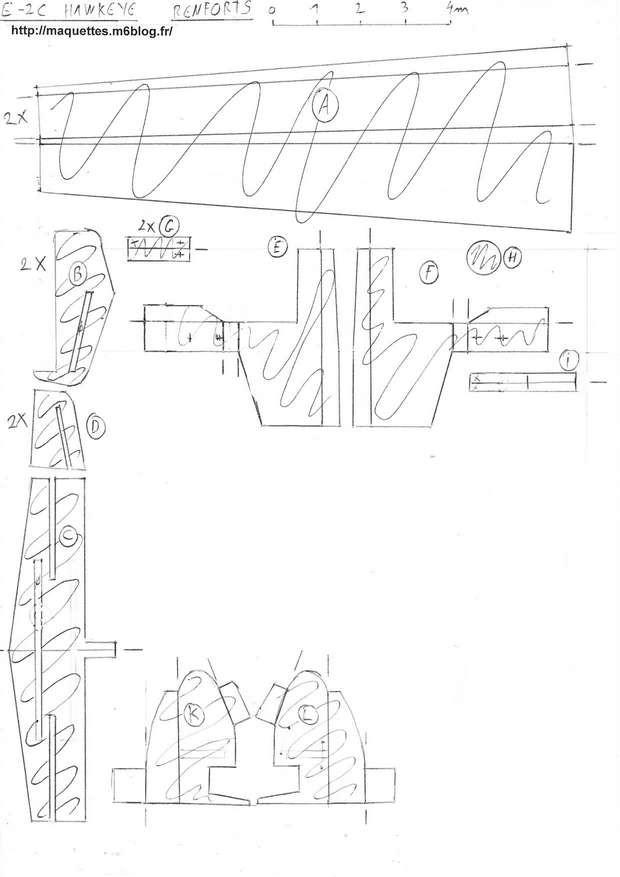 4 E 2c Hawkeye Us Navy Maquettes En Papier Paper