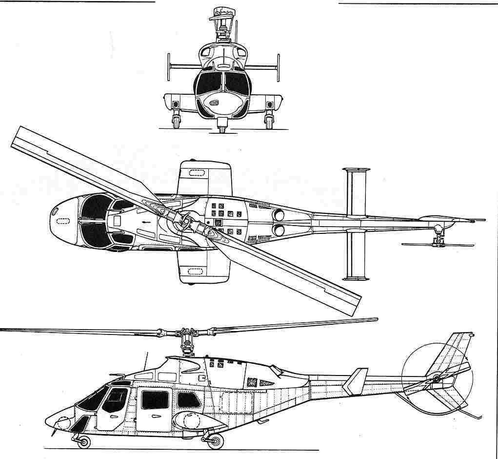 supercopter - maquettes en papier - paper models